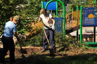 Greenwood Park community garden project gets underway