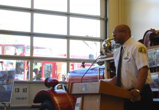 Dedication of new Crown Hill fire station
