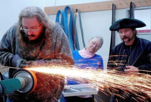 Bladesmith's shop a sharp idea for Ballard