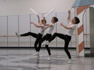 Ballard Big Picture: Dancing his troubles away