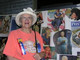 Georgie Bright Kunkel (by her mural at Museum of Flight)  8.13.05.jpg