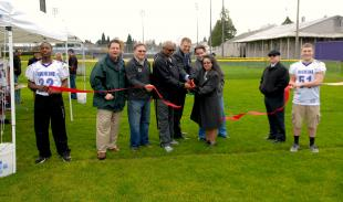 Moshier Park Field dedicated