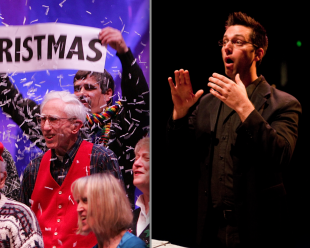 "UPDATE: ChoralSounds NW, ""I'll be Home for Christmas"" runs Dec. 8 & 9; Topical but family-friendly"