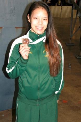 SLIDESHOW: Evergreen wrestling, Cecilia Vu