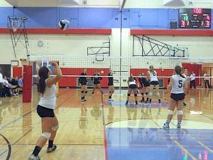 Lady Seahawks take three straight from West Seattle in Volleyball action