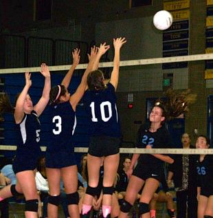 SLIDESHOW: Wildcats surrender in volleyball battle with Sealth
