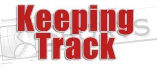 Keeping Track: Where area stars meet their future 4-21-17
