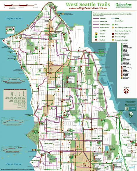 Map West Seattle Diagram Get Free About World Maps