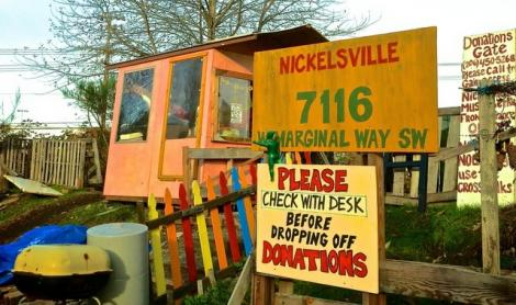 The entrance to Nickelsville